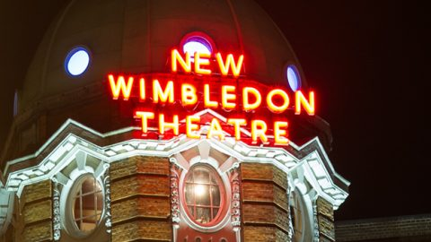 New Wimbledon Theatre Acting on energy data to great applause