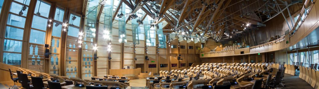 HVAC retrofit in the Scottish Parliament building