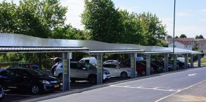 Nottingham takes the lead on solar carports