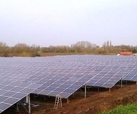 london southend airport solar farm