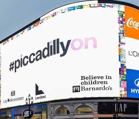Piccadilly Lights and Bluewater shopping centre