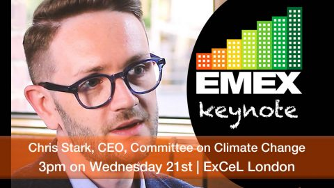 Chris Stark keynote at EMEX