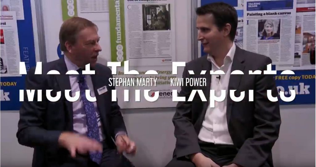 EMEX 2018 - Meet the Experts with Stephan Marty, Kiwi Power