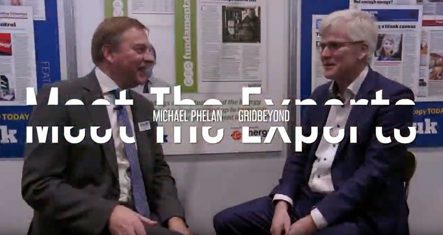 EMEX 2018 - Meet the Experts with Michael Phelan , Chief Executive at GridBeyond