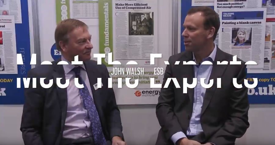 EMEX 2018 - Meet The Experts with John Walsh, Energy Supply Manager at ESB