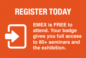 register now for free EMEX 2019