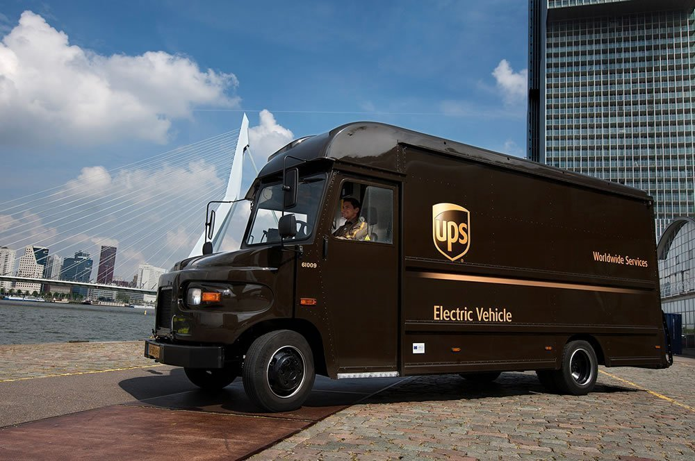 UPS Smart Electric Urban Logistics project