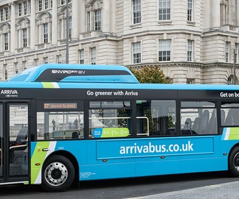 arriva electric bus