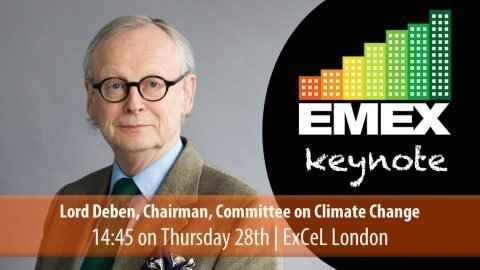 Lord Deben at EMEX