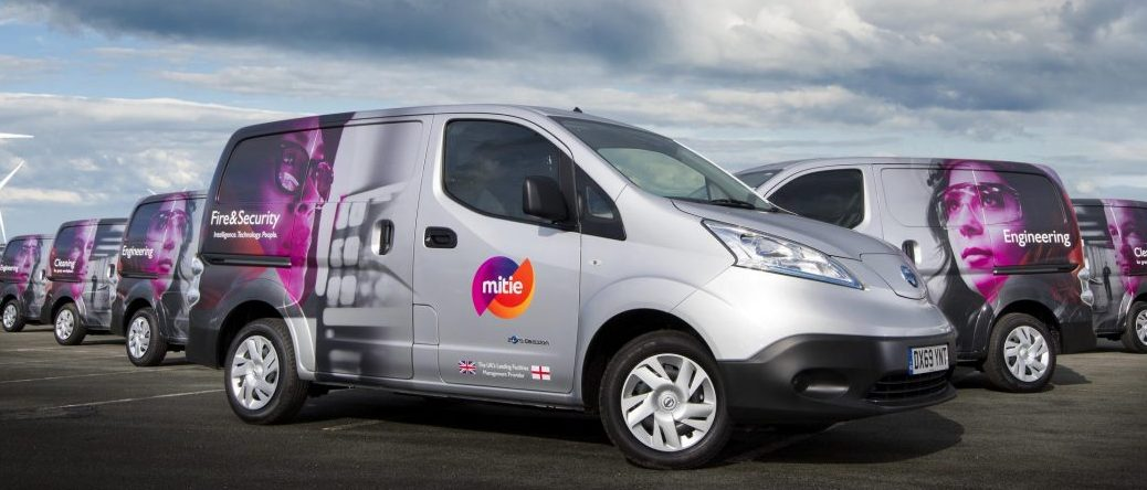Mitie's EV fleet passes 1,000
